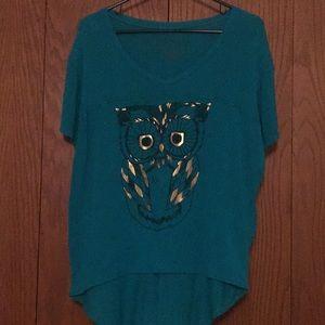 Super cute owl t-shirt